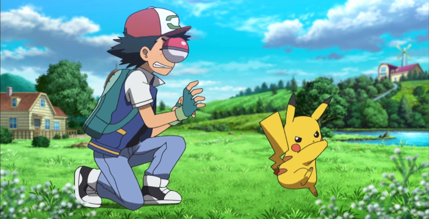 Relive Ash Ketchum's first adventure at Japan Expo '17 screenshot