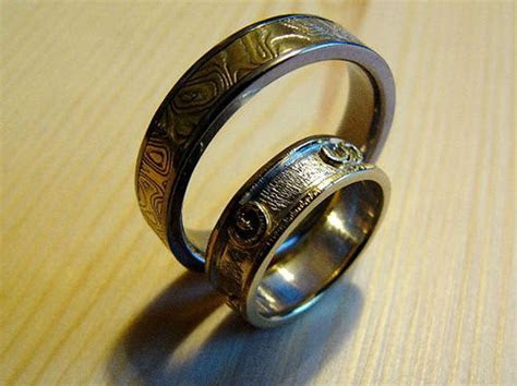 73 best images about Harley Davidson Wedding Rings on