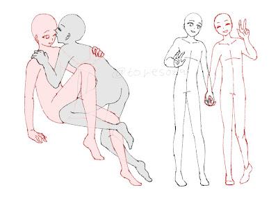 無料イラスト画像 2人 構図 イラスト カップル
