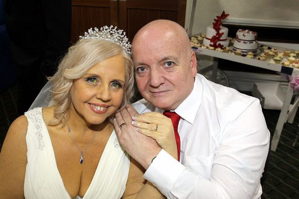 Lorraine Green has fulfilled her dying wish and married Shane Green, just days after doctors diagnosed her with terminal cancer and said she had weeks to live