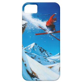 Extreme Skiing iPhone 5 Case