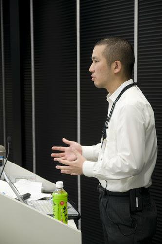 松野 洋希さん, JJUG 基礎セミナ Struts, 2008.10.02