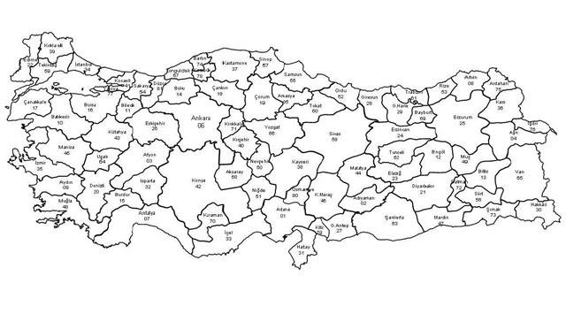 Türkiye Haritası Boyama Programı Gazetesujin