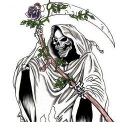 Tatuajes Archivos Imágenes De La Santa Muerte