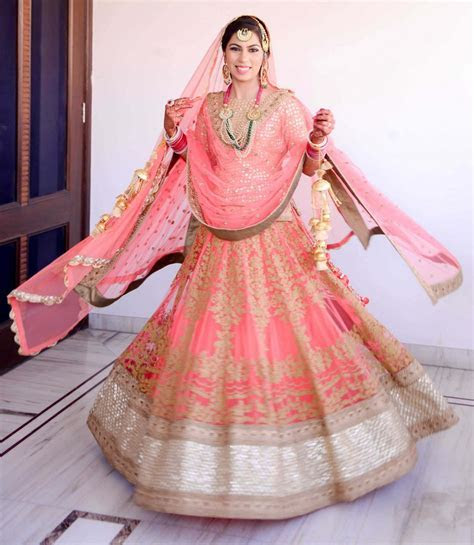 Wedding in Ludhiana with a radiant bride   WedMeGood