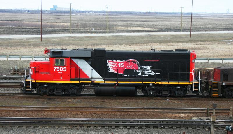 CN 7505 in Winnipeg
