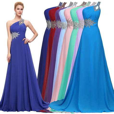 cheap long chiffon evening gown bridesmaid dresses prom
