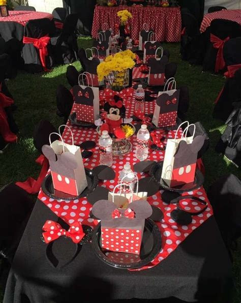 Minnie Mouse Birthday Party Ideas   Photo 1 of 20   Catch