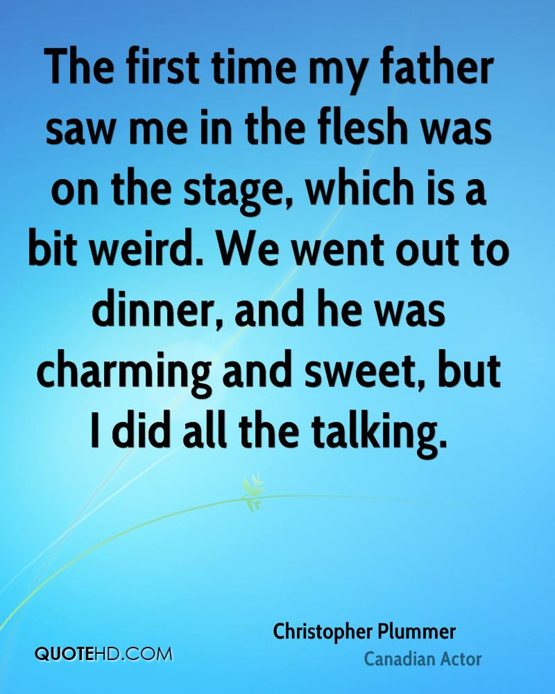 Christopher Plummer Quotes Quotehd