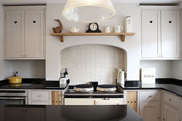 Farrow & Ball Elephant's Breath kitchen