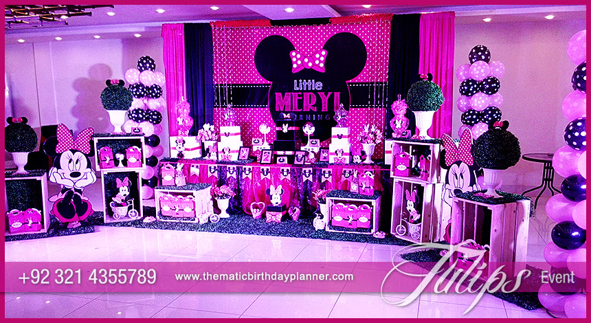 Explore The Best Minnie Mouse Party Ideas In Pakistan