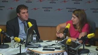 """Bonvehí i Pascal, durant l'entrevista d'aquest dijous a """"El matí de Catalunya Ràdio"""""""