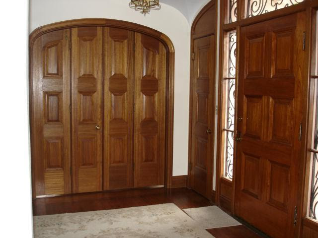 Dining-room-French-doors-and-front-door | Julia Morgan House ...