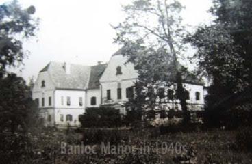 Banloc Manor in 1942
