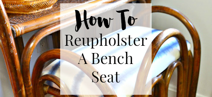 howto-shibori-fabric-reupholstered-rattan-vanity-bench