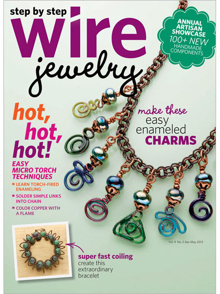 Step by Step Wire Jewelry, Mar/Apr 2013
