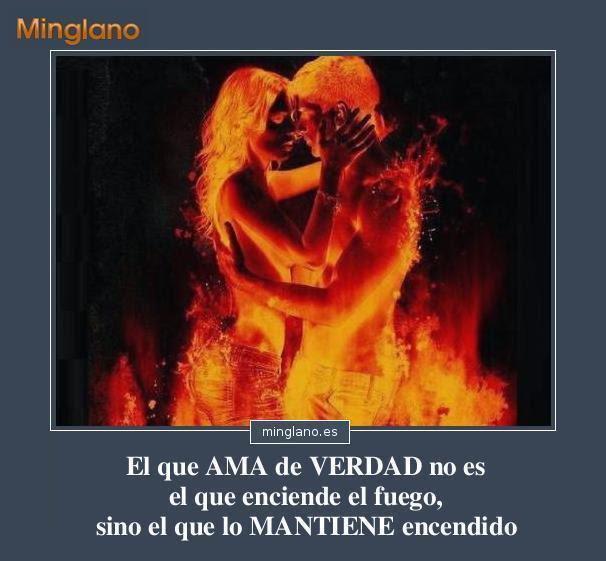 Frases Sobre El Fuego Del Amor
