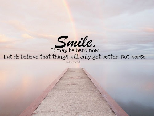 Quotes About Thing Will Get Better 23 Quotes
