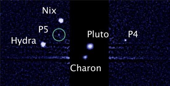 Hubble descobre quinta lua de Plutão