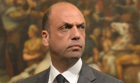 Angelino Alfano Italy's Interior Minister