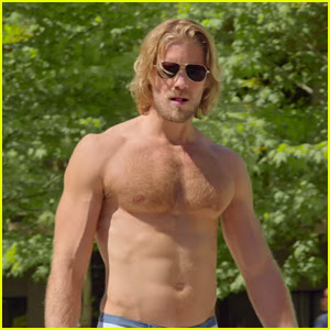 See Matt Barr's Hot Shirtless Moments in 'The Layover' Trailer!