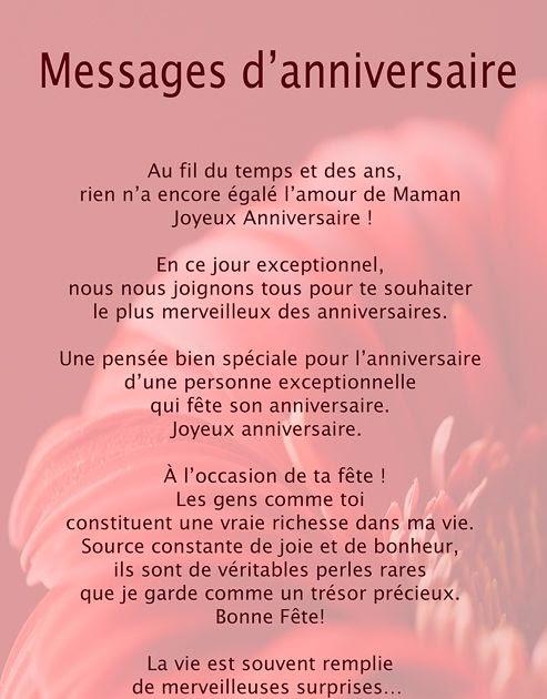 Message Anniversaire Maman Proverbe D Amour Pour Sa Maman