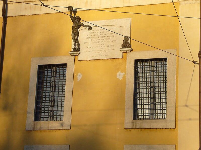 File:Trastevere - s Michele memoria dei politici nel carcere delle donne 1190290.JPG