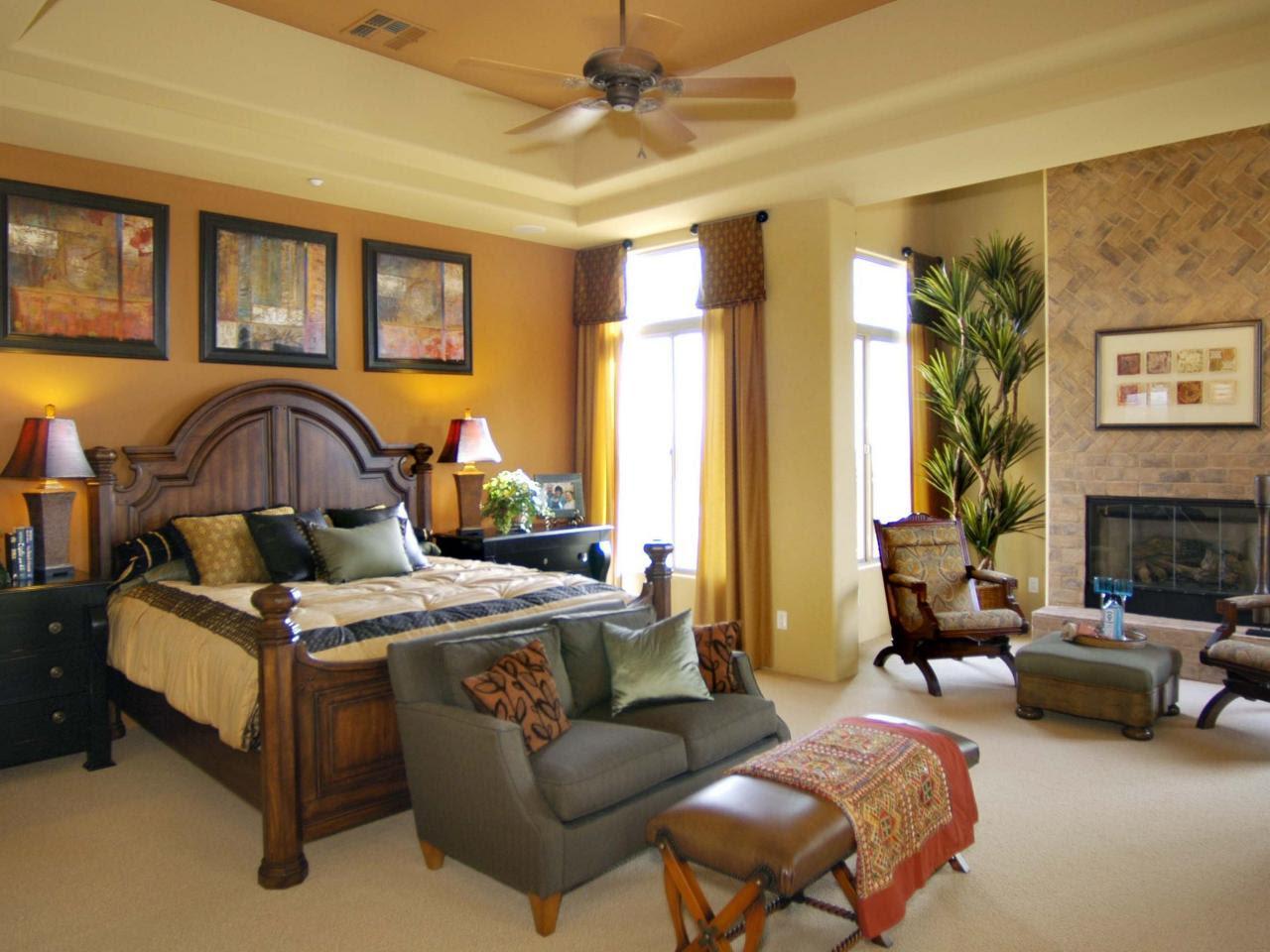 Yellow Master Bedroom Photos | HGTV