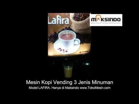 Mesin Kopi Vending 3 Jenis Minuman LAFIRA Murah
