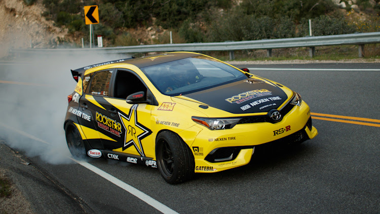 2017 Toyota Corolla iM drift car by Papadakis Racing