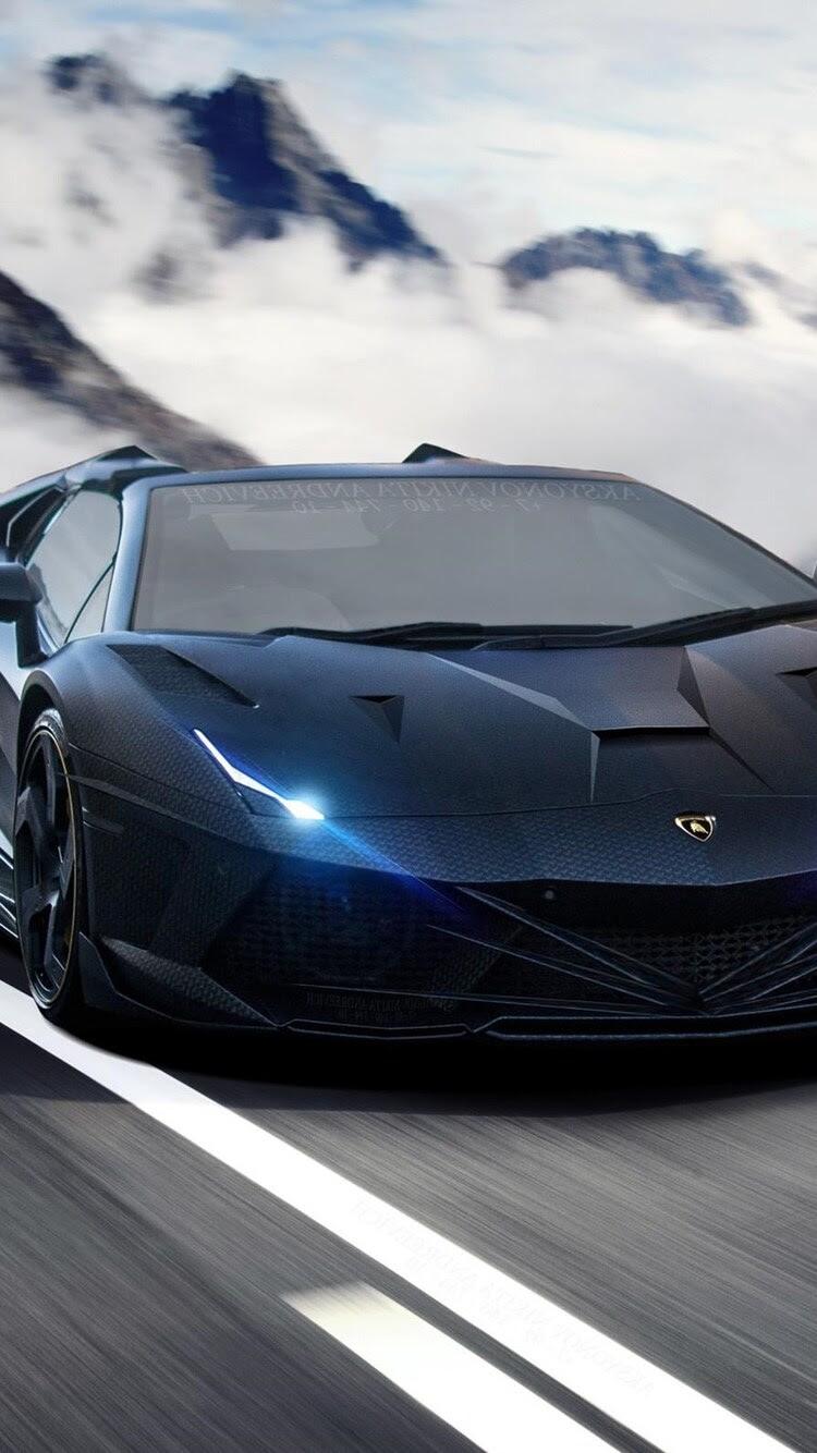 750x1334 Lamborghini Aventador 2 iPhone 6, iPhone 6S, iPhone 7 HD 4k Wallpapers, Images