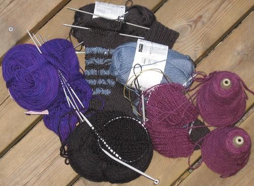 Mange strikkepinner å frigjøre