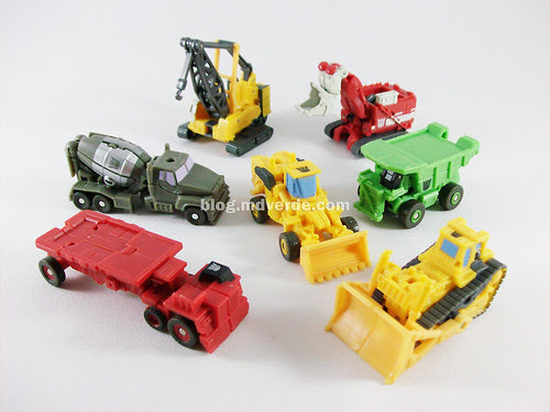 Transformers Devastator RotF Legends