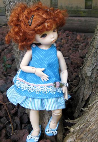 Pumpkin's new dress