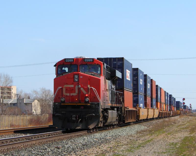 CN 2269 in Winnipeg