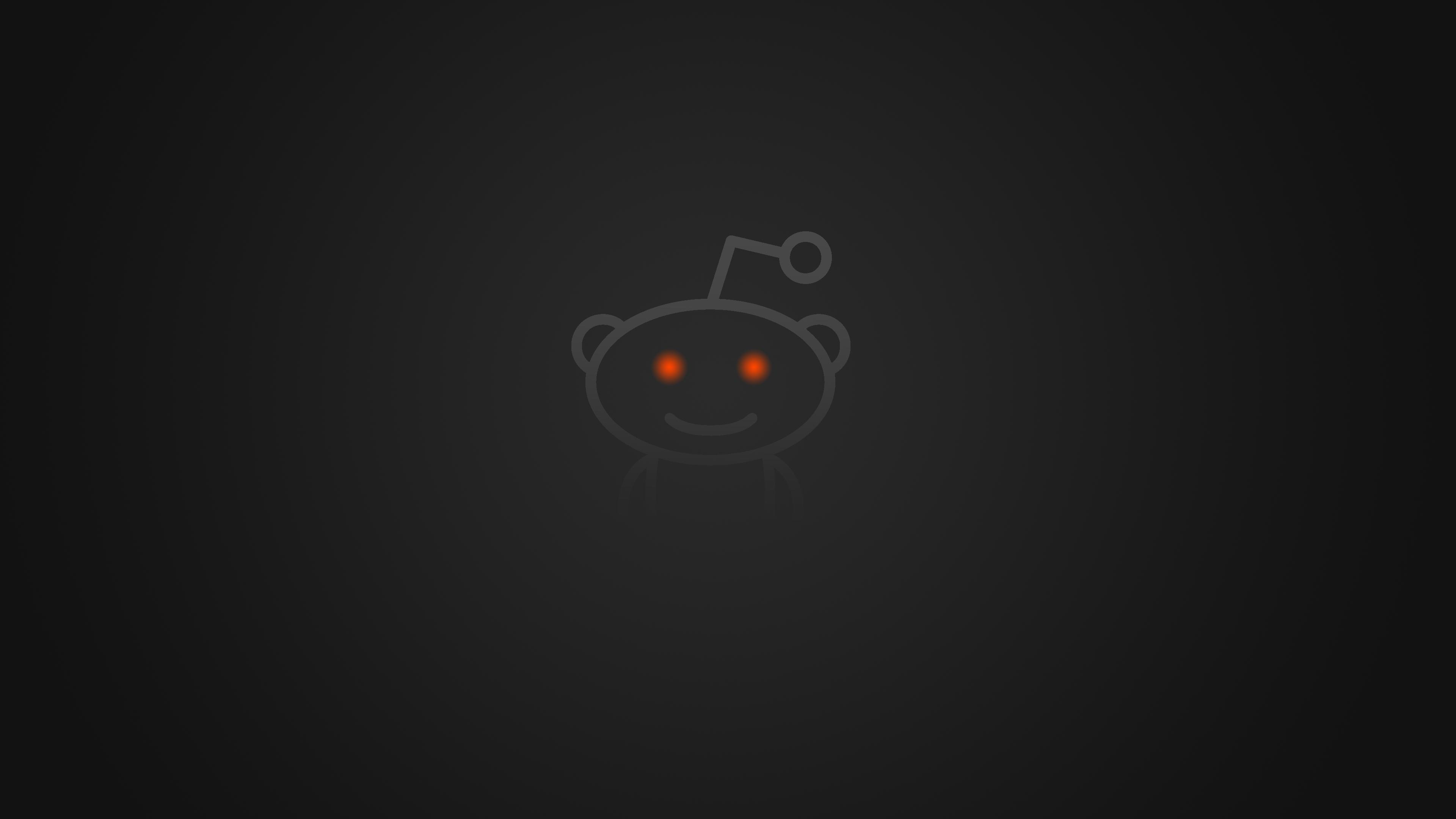 Minimalistic Reddit Background [OC] [3840x2160]] : WQHD_Wallpaper