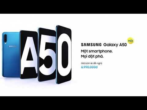 Samsung Galaxy A50 - Một smartphone. Mọi đột phá.