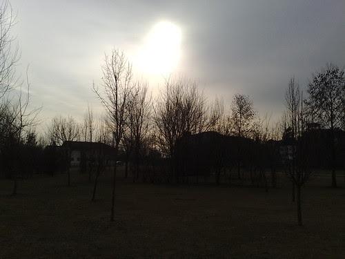 Il sole dal parco by durishti