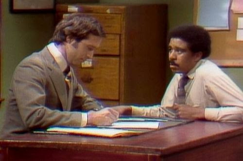 Chevy Chase and Richard Pryor
