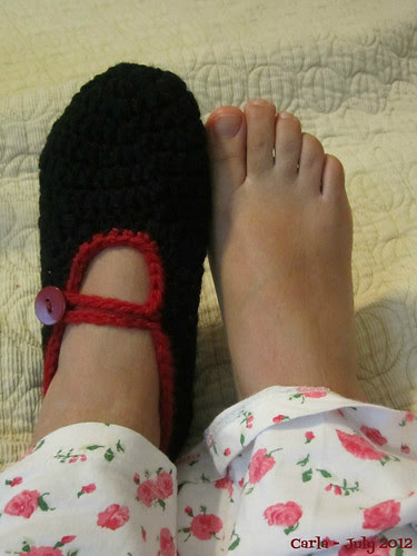 Mary Jane Slipper