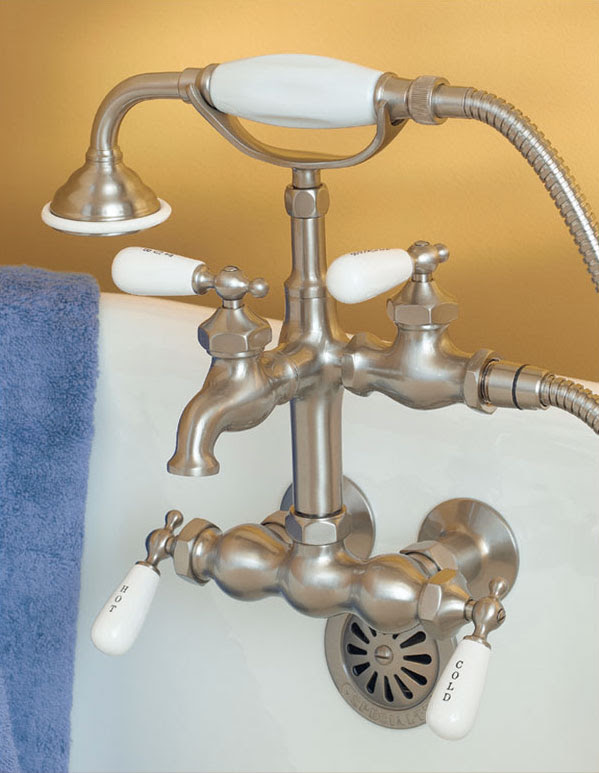 Faucet For Clawfoot Tub With Shower Attachment Faucets For