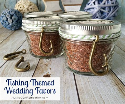 Fishing Themed Wedding Favors   Cajun Spice Fish Rub with