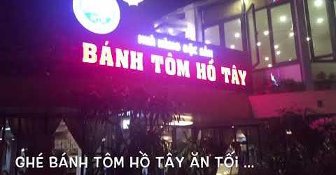 Về Hà Nội ăn bánh tôm Hồ Tây
