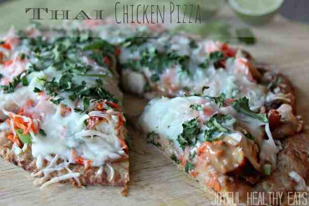Thai Chicken Pizza 7