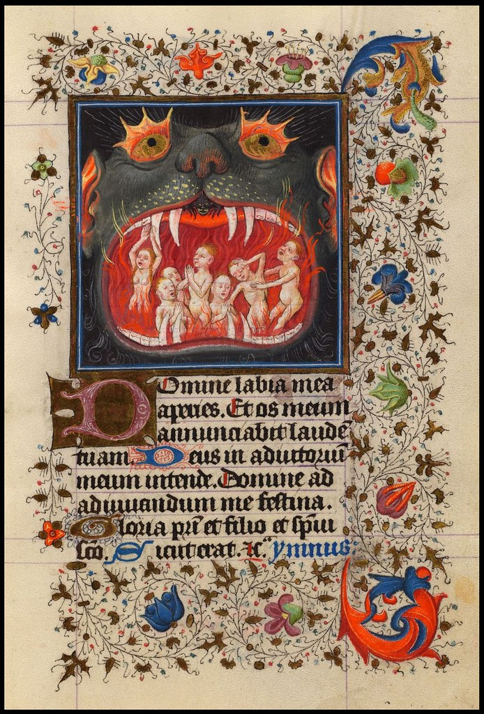 The Hours of Catherine of Cleves (Morgan exhibition)(cropped page) c