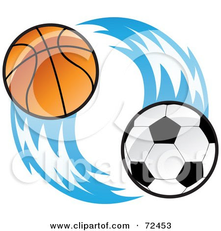 flames clip art. Ball With Blue Flames