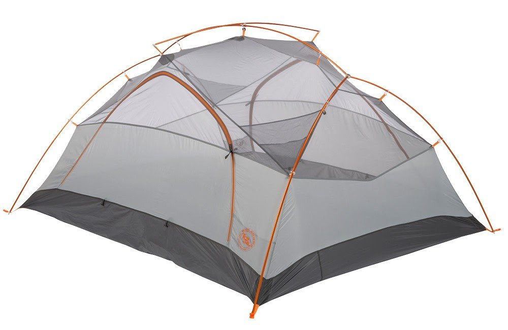 Amazon.com : Big Agnes Copper Spur UL3 mtnGLO Tent (Silver/Gray ...