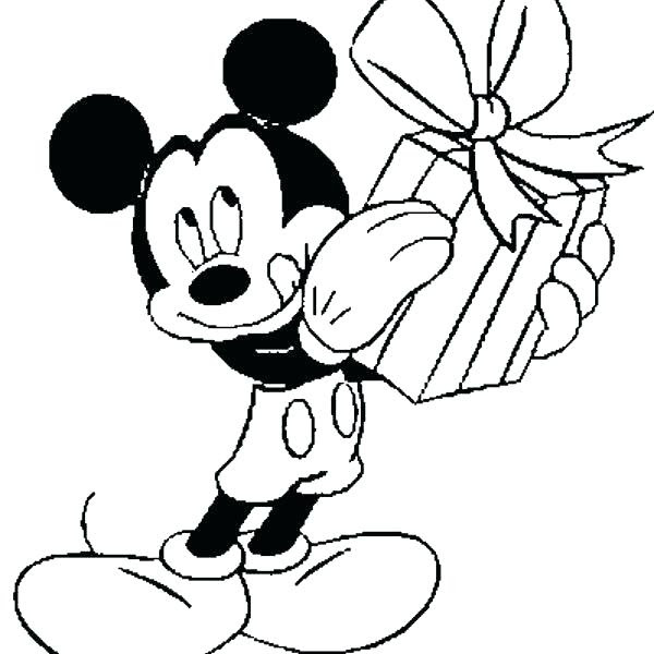 Happy Birthday Minnie Mouse Coloring Pages at GetDrawings ...