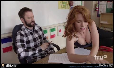 Maria Thayer Nude Pictures Exposed (#1 Uncensored)