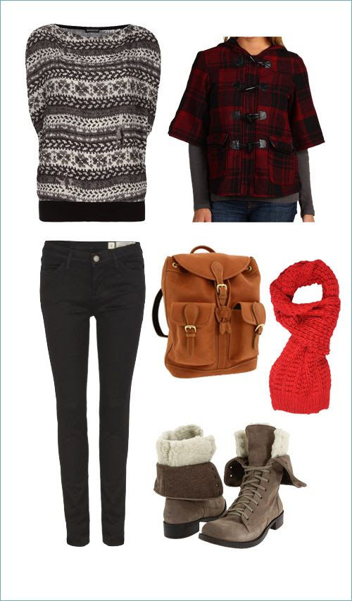 Casual Weekend Look - Cold Weather Fashion